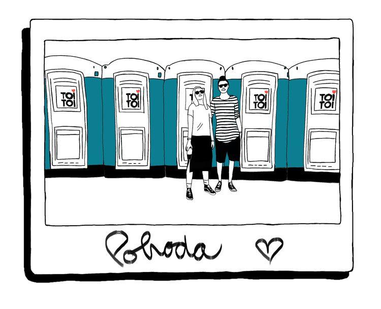 illustration, festival, polaroid - michal_vavro   ello