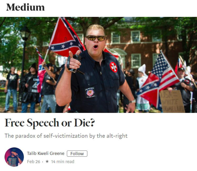 2017, white nationalist decided - ferdiz_bsides | ello