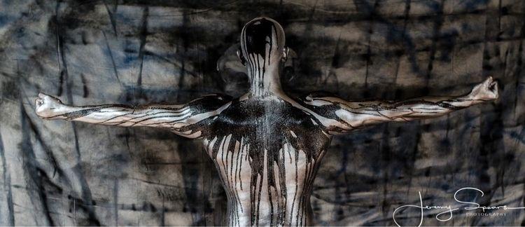 Crow Insurrection - bodypaint, bodyart - velvetartbycarter | ello