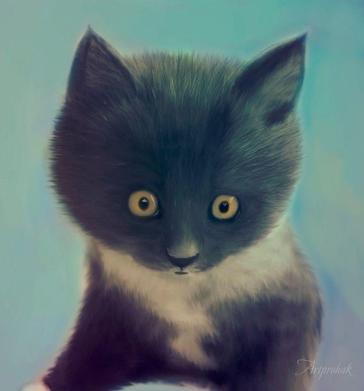 Cat - Artprohak, art, cat, arts - artprohak | ello