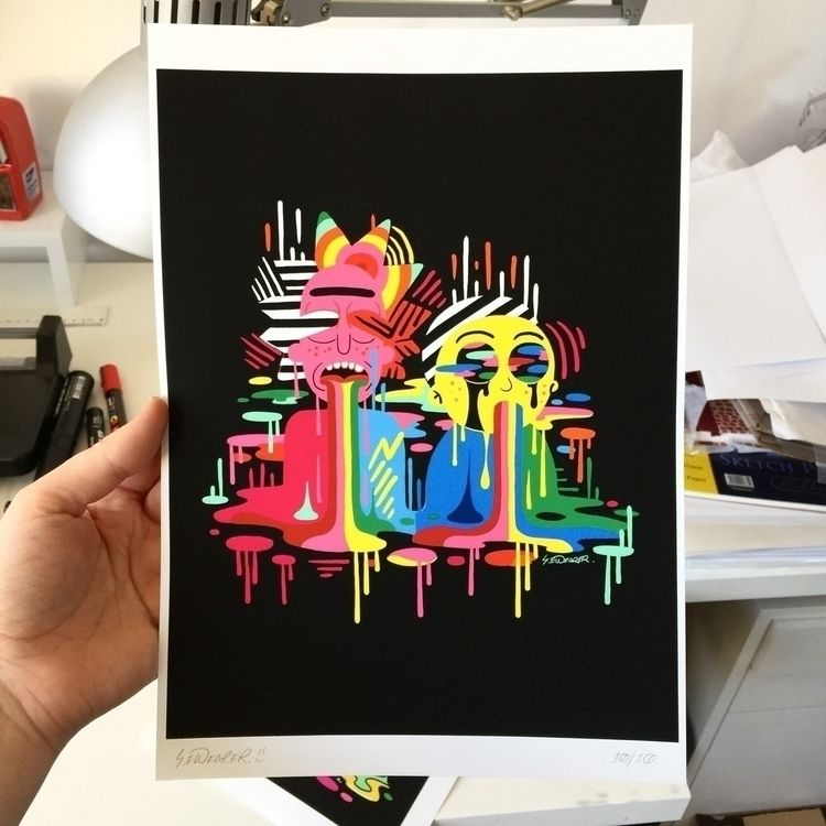 Rick Morty rainbow prints store - ms_wearer | ello