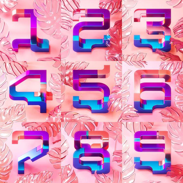 Numbers. BÜRO UFHO Creative Stu - ufho | ello
