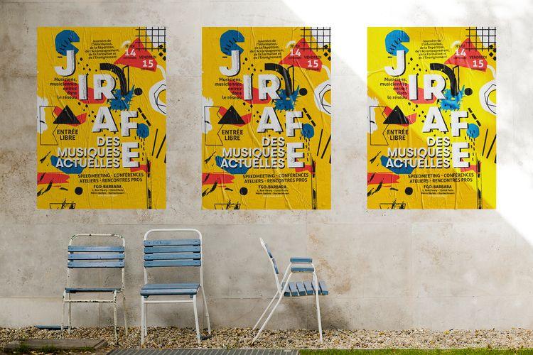 Poster event called JIRAFE Pari - michaelsallit | ello