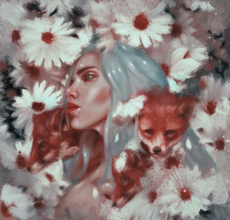 Fox spirit/2017 - femaleportrait - veuliahart | ello