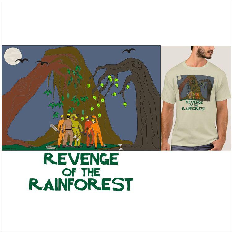 Save rain forest. Plant tree. P - ilms_explore_it | ello