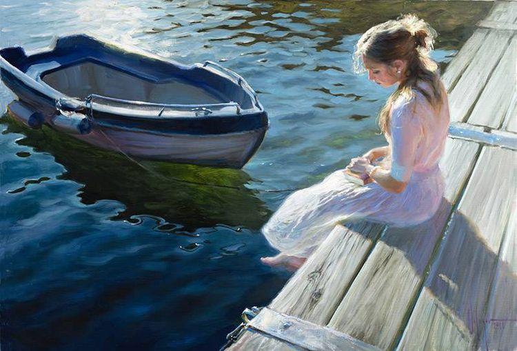 Beautiful paintings Russian pai - nettculture   ello