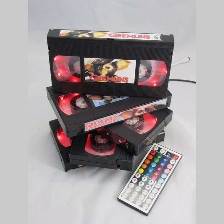 VHS tapes, lamp. Special reques - egvastbinder   ello