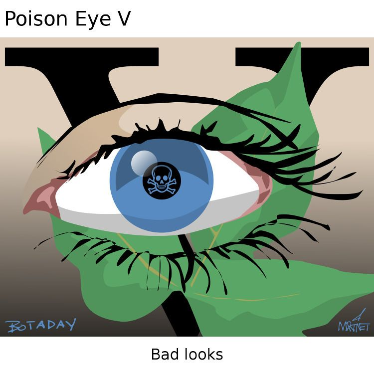eyes, plants, poison - mmrtnt | ello
