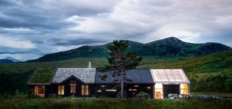 Cabin Peak Rever Drage Architec - thetreemag | ello