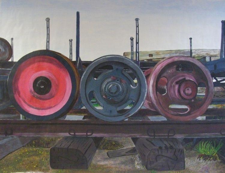 Eisenbahnräder / Tren tekerlekl - mkadatepe | ello