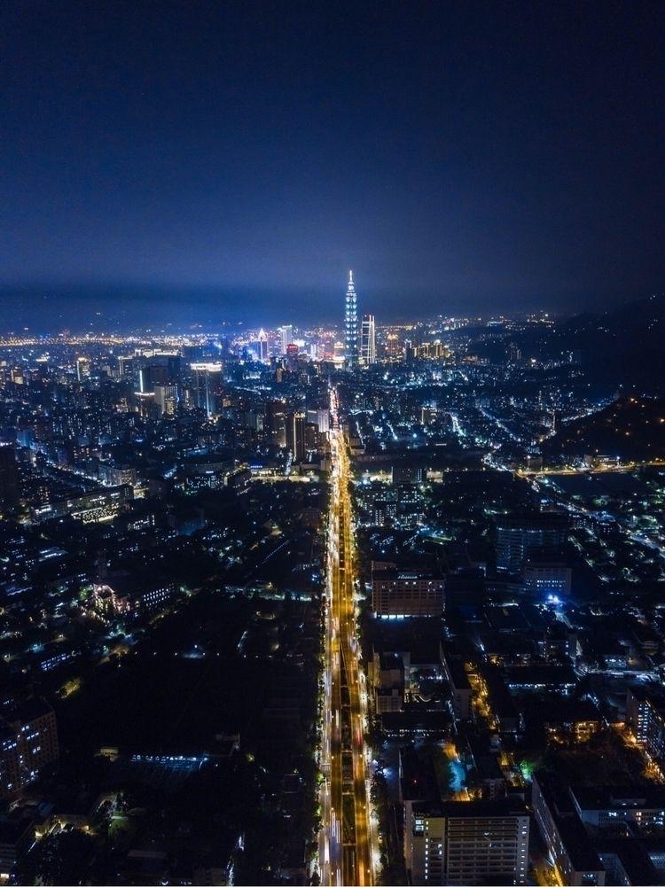 台灣, 台北, Taiwan, Taipei, sky, street - kk32311 | ello