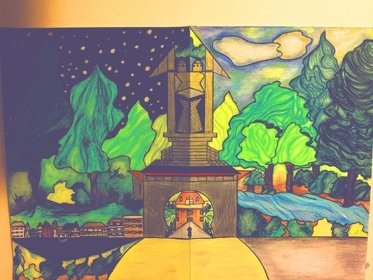 parallel universe art house - path - lowyn | ello