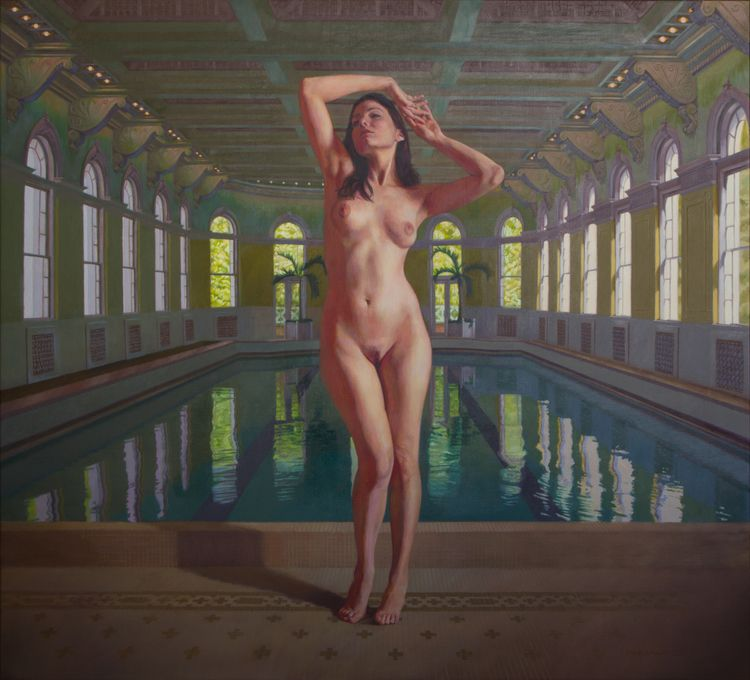 Venus Visits Homestead Resort,  - mikebrewerart | ello