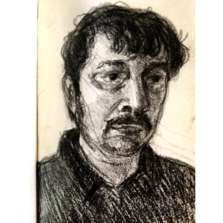 Portrait lecturer. artistsdrop - yuliavirko | ello