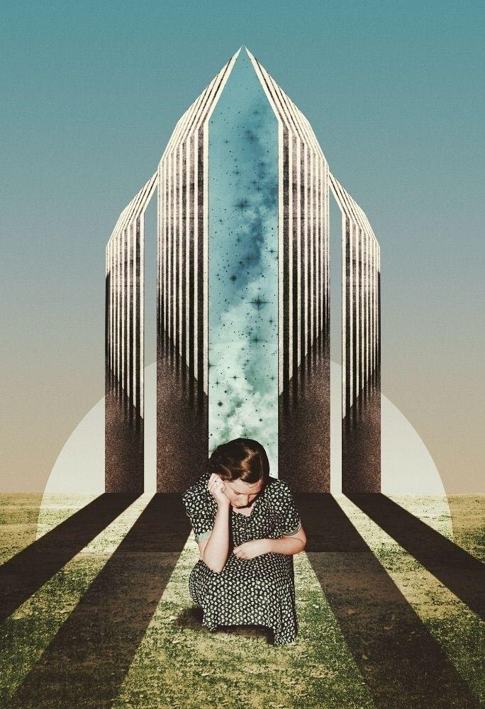 Church Renunciation, 2018 - collage - julienp | ello