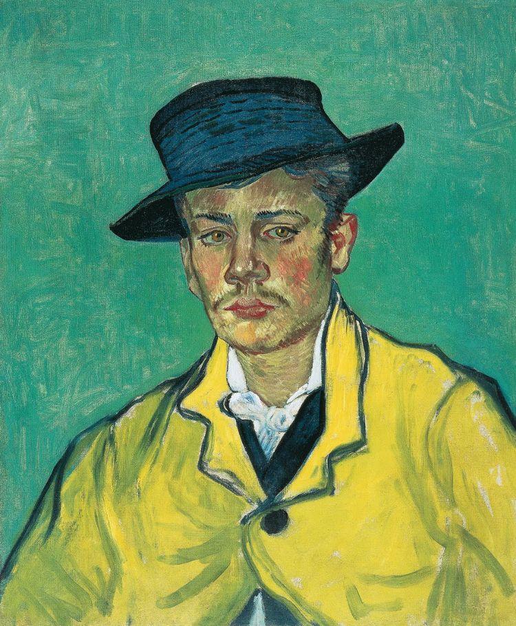 Vincent van Gogh \\ Portrait R - -ba | ello