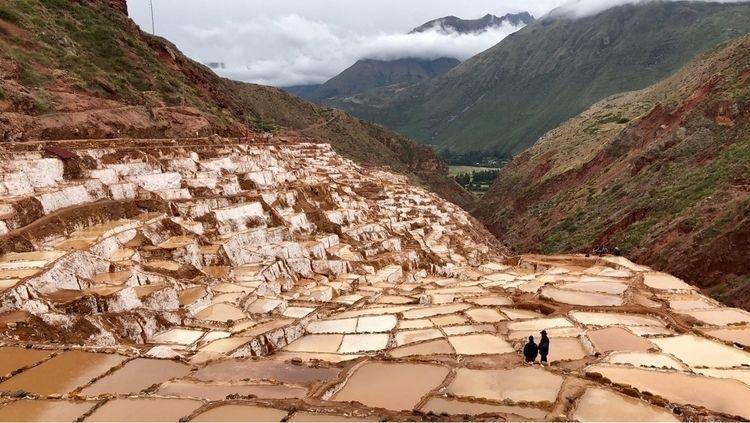 Ancient salt mines - Peru. - adventuremundo | ello