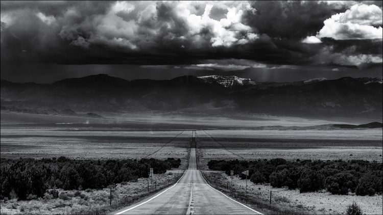 Route 50, east Ely, Nevada, USA - docdenny | ello