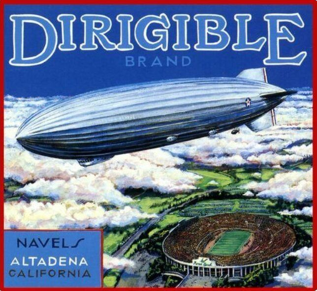 Dirigible Altadena - broodingsquid | ello