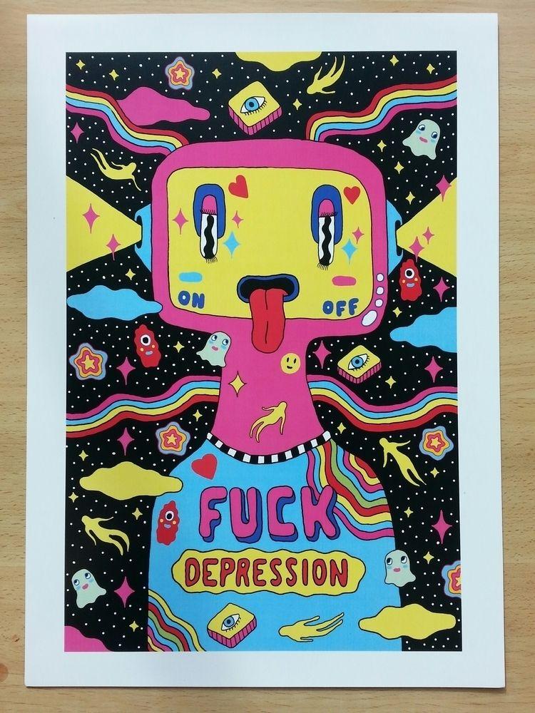 Fuck Depression. personal favou - saif-9654 | ello