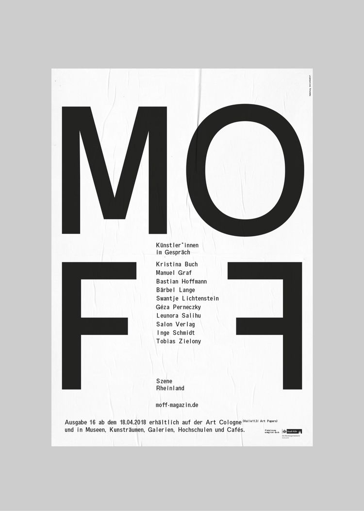 Poster upcoming issue MOFF maga - dasmoment | ello