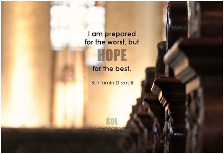 prepared worst, hope Benjamin D - symphonyoflove | ello