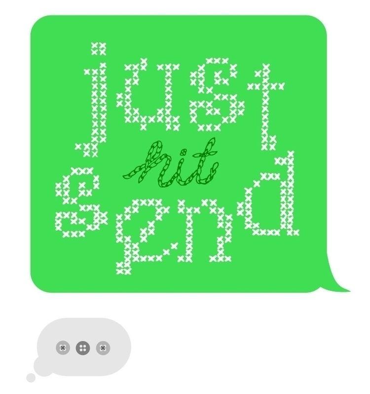 scoring day - threadless, texting - catherinemaldonado | ello