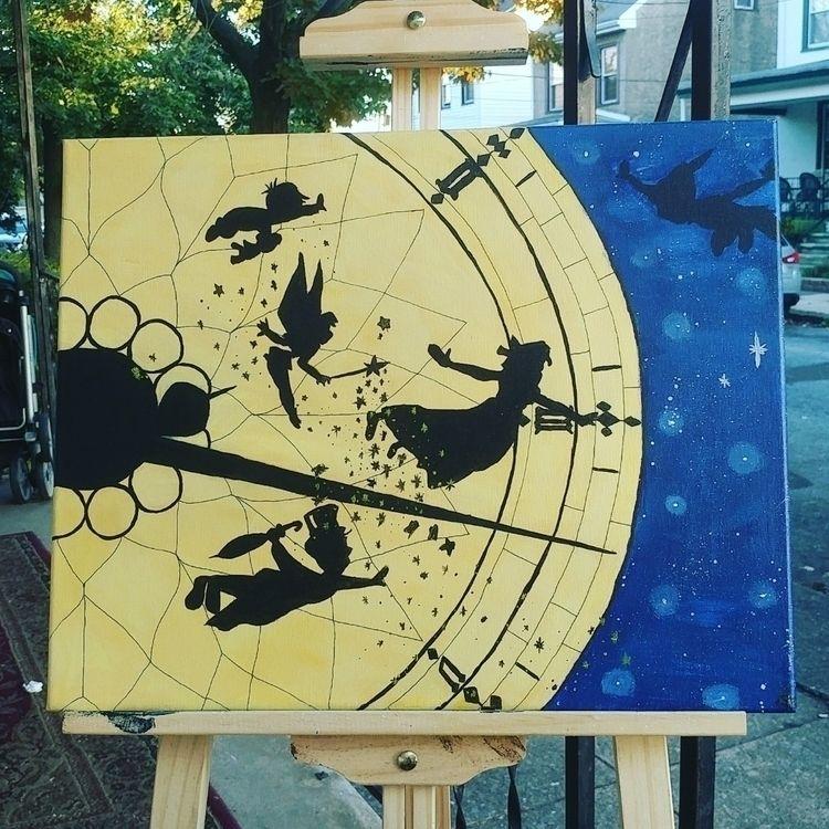 Acrylic canvas call Peter Darli - kayteeart79 | ello
