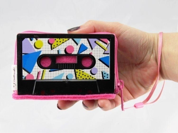 pattern retro cassette wallet w - egvastbinder | ello