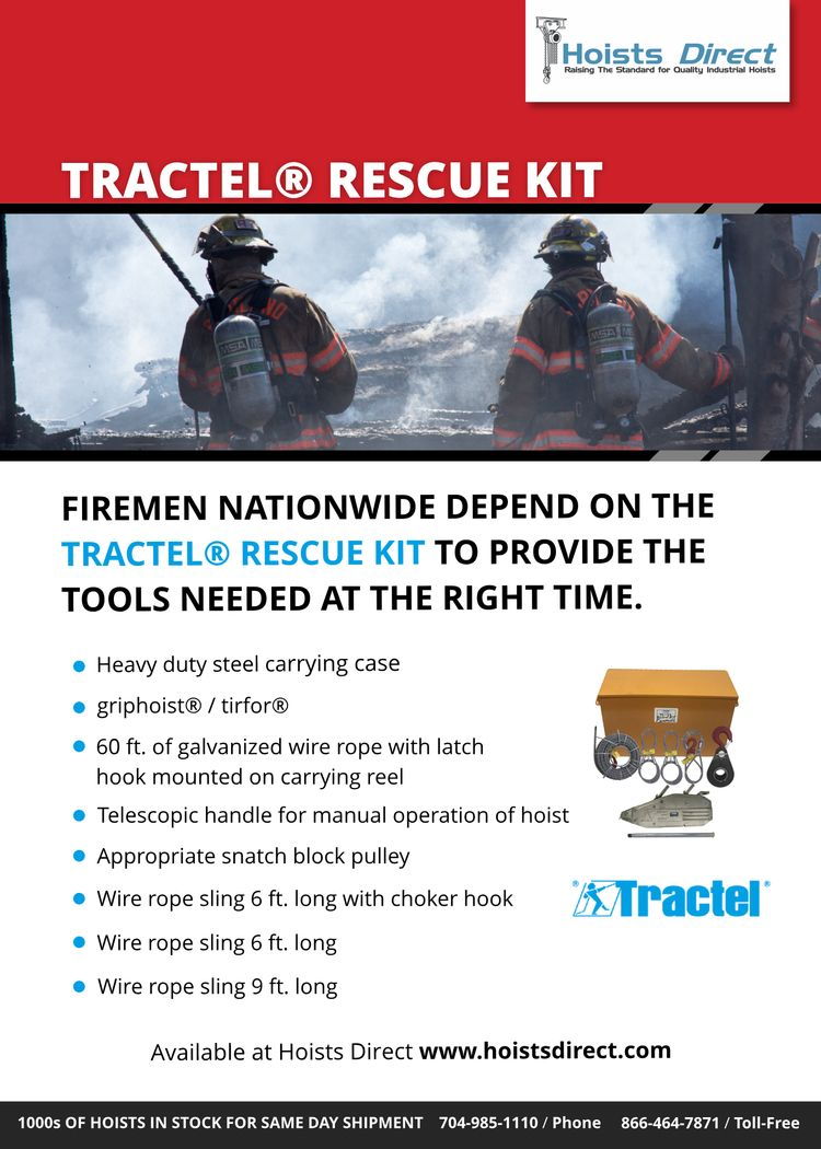 Tractel Rescue Kit sold Hoists  - cathyhd | ello