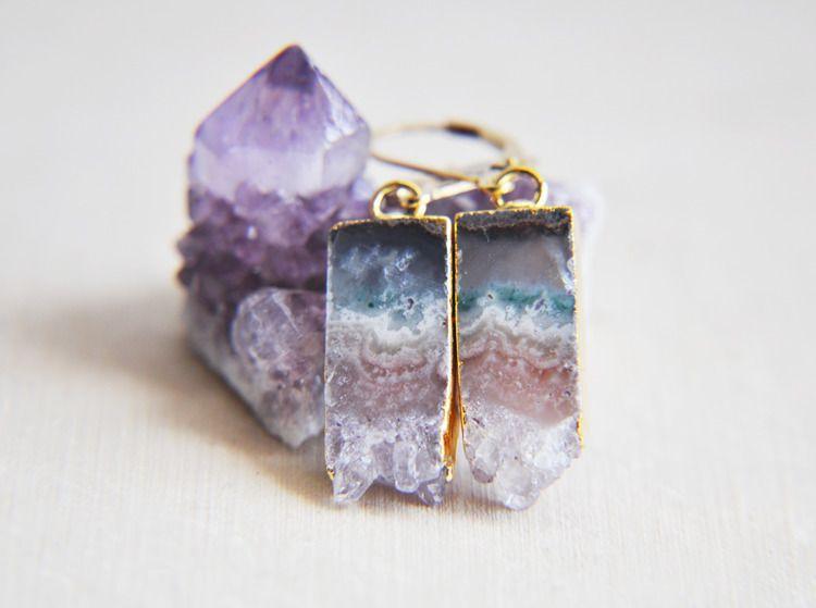 amethyst, crystal, gemestones - fawinginlove | ello