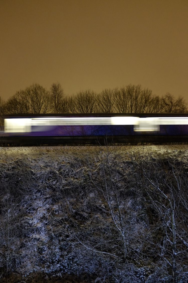 Train - train, travel, nighttime - conorburrow | ello