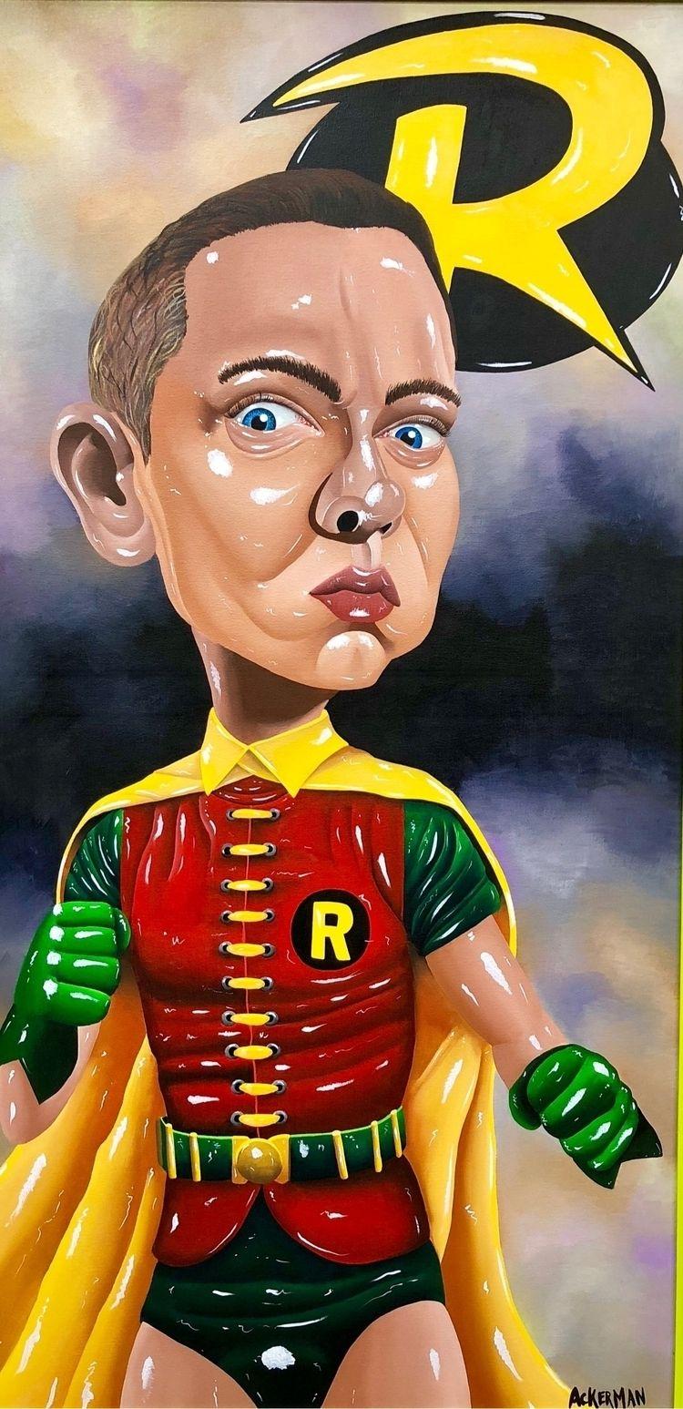 "Newest painting Title ""Rap Boy - jasonackerman | ello"