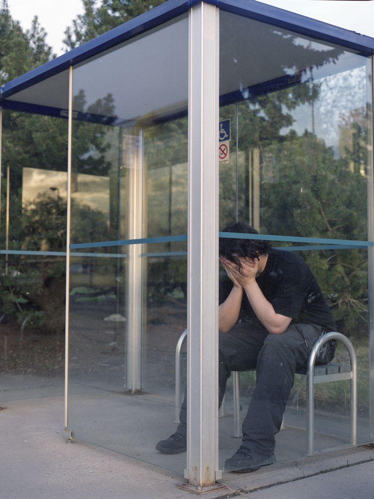 Crying Man III  - ello, elloanalog - alaskapalms | ello