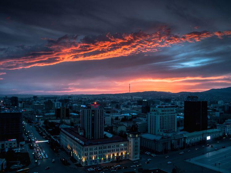 Sunset - Ulaanbaatar (Mongolia - auto_da_fe | ello