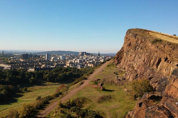 Seat Edinburgh, 2015 - scenery, landscape - lenaonthemove | ello