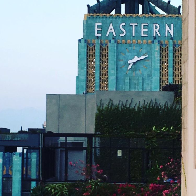 Eastern Time. (Downtown LA - DTLA - thespeck | ello