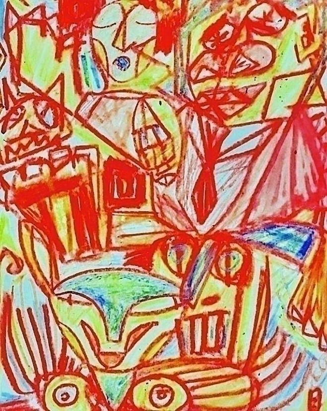 Untitled December 2017 Crayon p - yocalvi   ello
