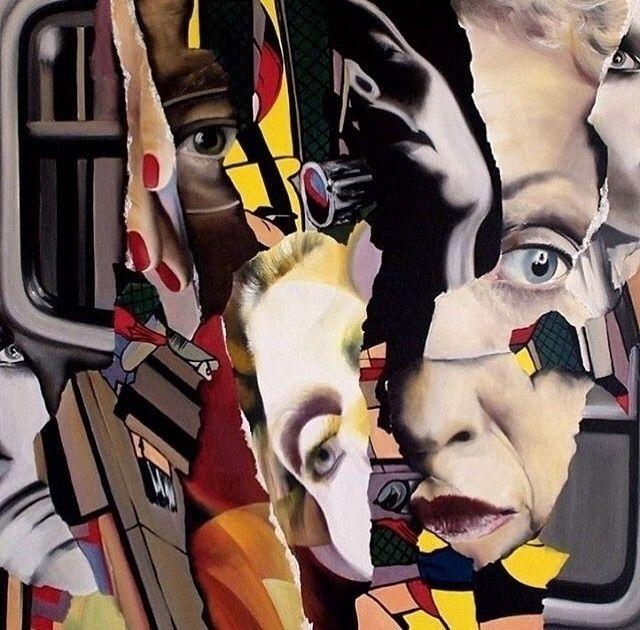 120- 120 cm, oil canvas 3/ 2 se - zsuzsics | ello