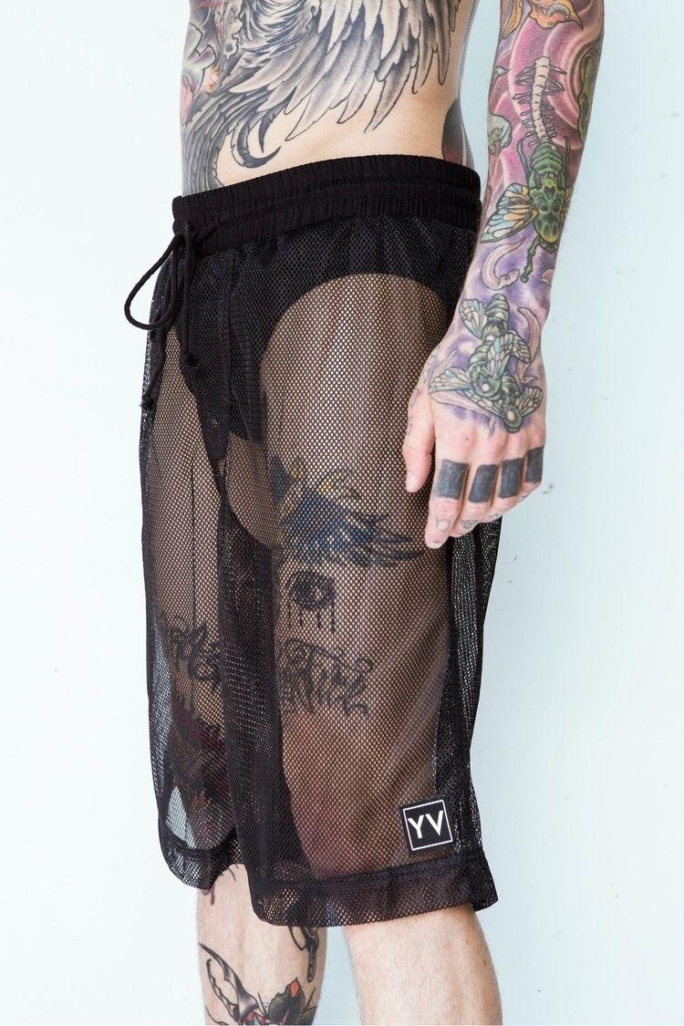 Mesh shorts stock! asked, deliv - yesterdaysvirgins | ello