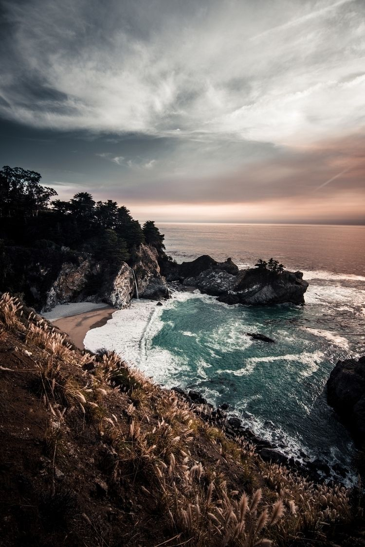 McWay Falls, Big Sur - california - iammarco | ello