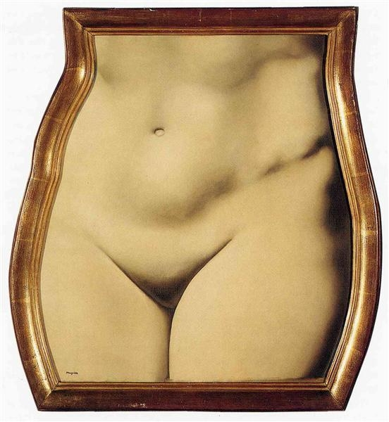Rene Magritte, Representation 1 - modernism_is_crap | ello