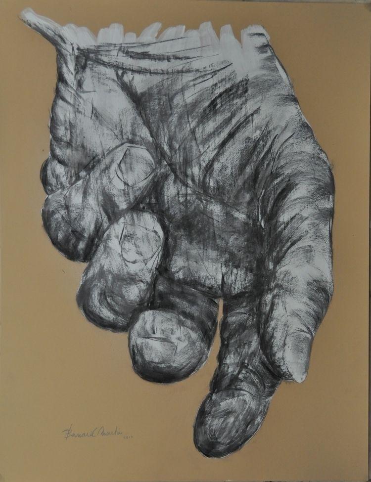 hand master Charcoal Acrylic pa - ben-peeters | ello