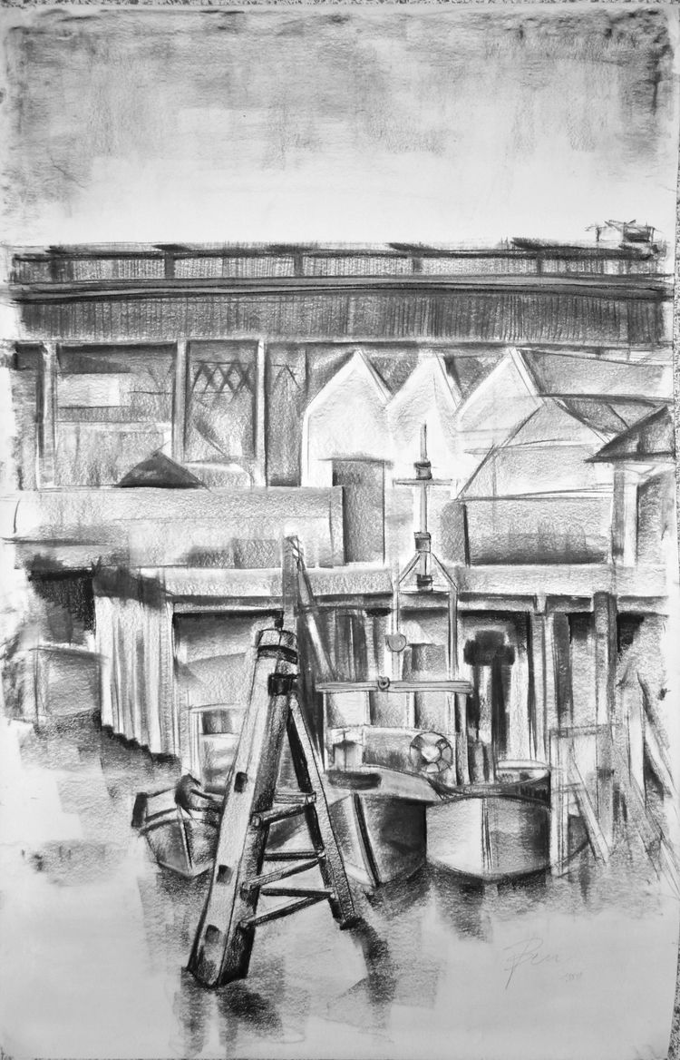 De scheepswerf shipyard) Boel 1 - ben-peeters | ello