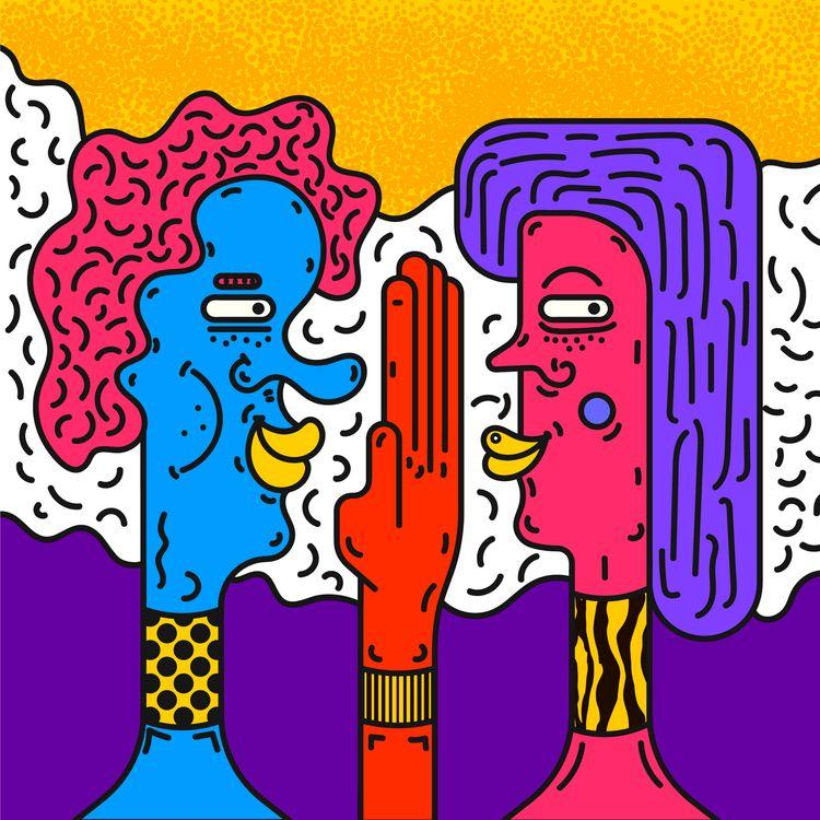 Social Envy - Illustration, Fashion - tameem | ello