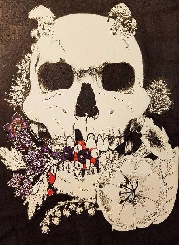 inktober, inktober2017, poison - ehnason   ello