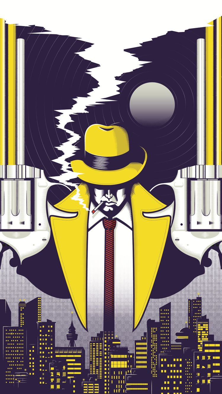 Night Smoke: Dick Tracy tribute - wattlendaub   ello