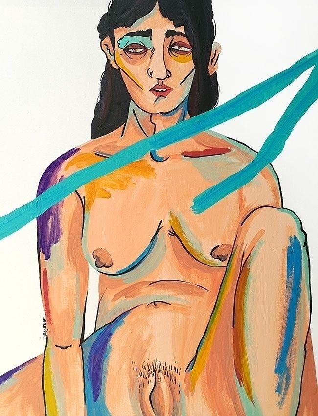 Miel Acrylic canvas Herssonoe 2 - herssonoe | ello