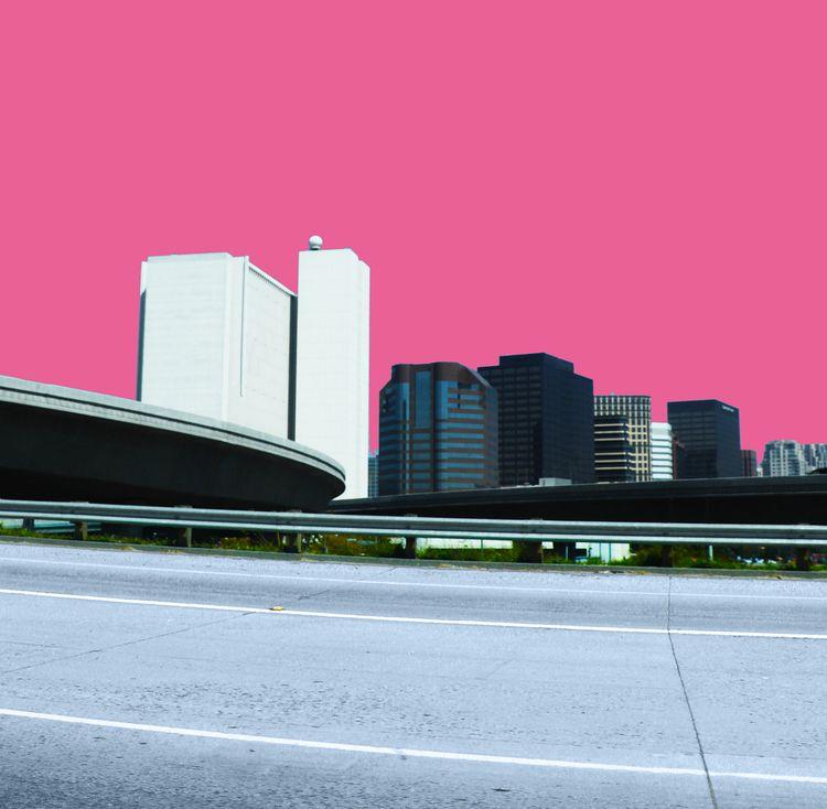LA Pink, photographic collage - mariastroka   ello