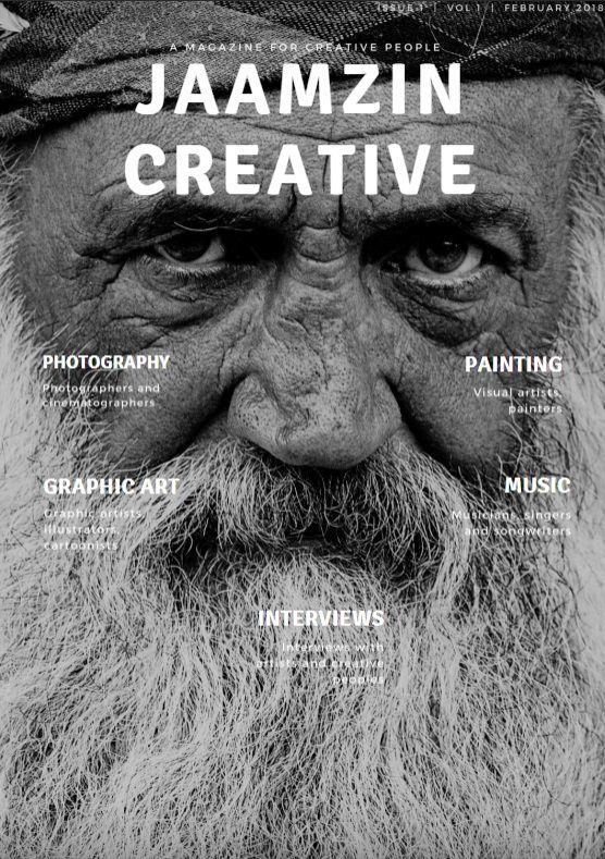 JaamZIN Creative magazine Febru - jaamzin | ello